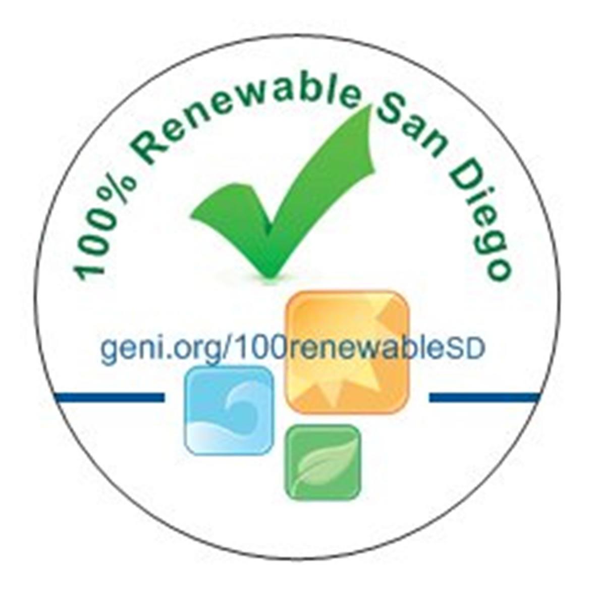 100 Percent Renewable San Diego!