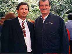 Peter Meisen With Vicente Fox