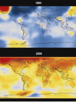 climate change speeds up since 1997 Kyoto Accord