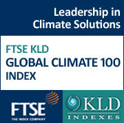 FTSE KLD Global Climate 100 Index - Leadership In Climate Solutions