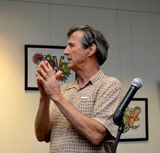 Peter Meisen presenting