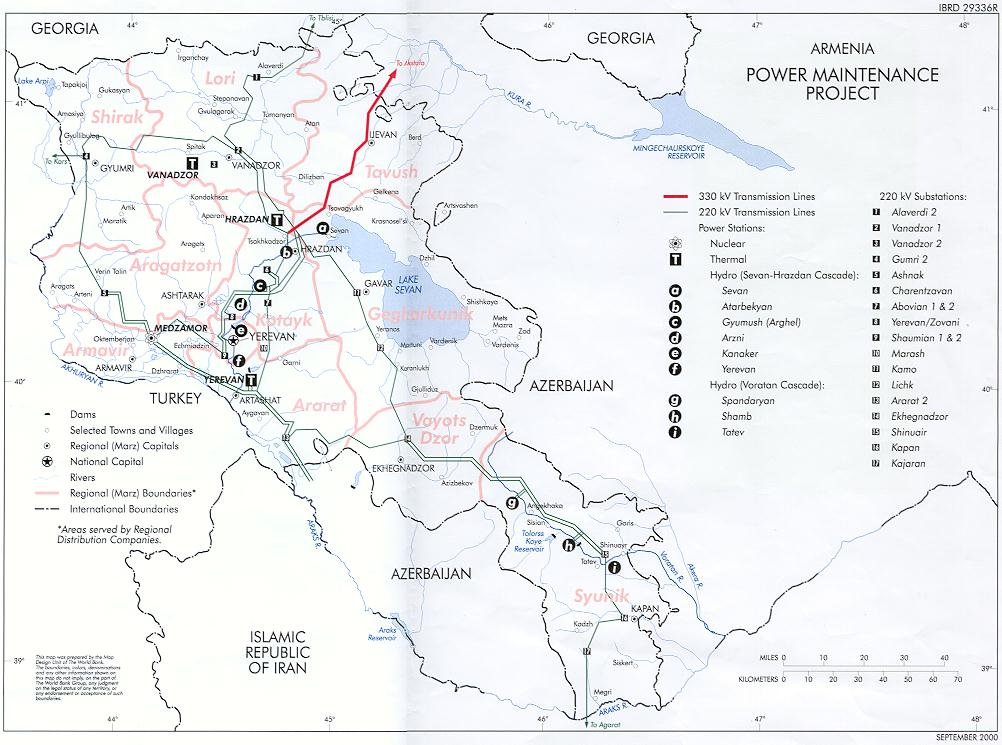 Energy Overview Of Armenia