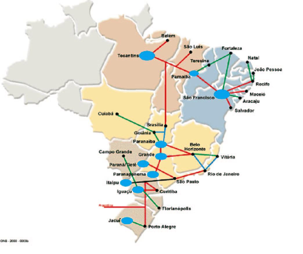 Electricity Grid Brazil