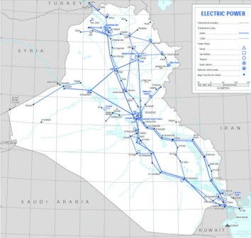 National Energy Grid of Iraq - National Electricity Transmission