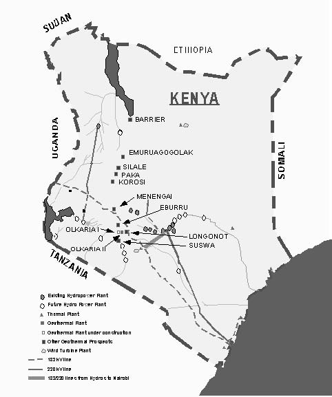 National Energy Grid of Kenya  National Electricity Transmission
