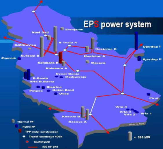 National energy grid of serbia national electricity transmission armenias electricity transmission grid thumbnail map gumiabroncs Gallery