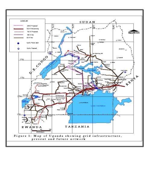 National Energy Grid of Uganda - National Electricity ...