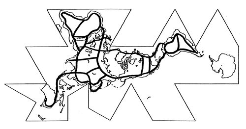 Us Map Lineart
