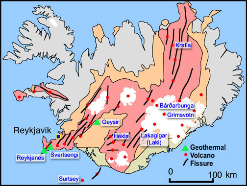 Geothermal Energy Map