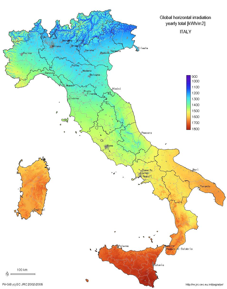 Solar Energy in Italy