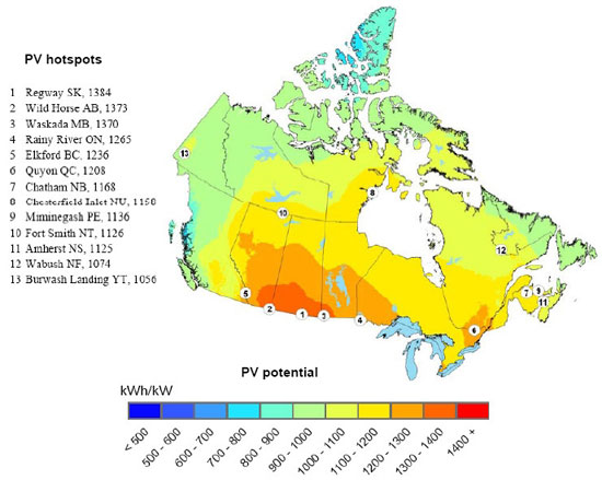 Energy Production and Potential in the Peace River Region of Alberta