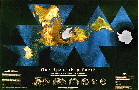 Global energy network institute shopping maps our spaceship our spaceship earth satellite self portrait dymaxion map gumiabroncs Choice Image